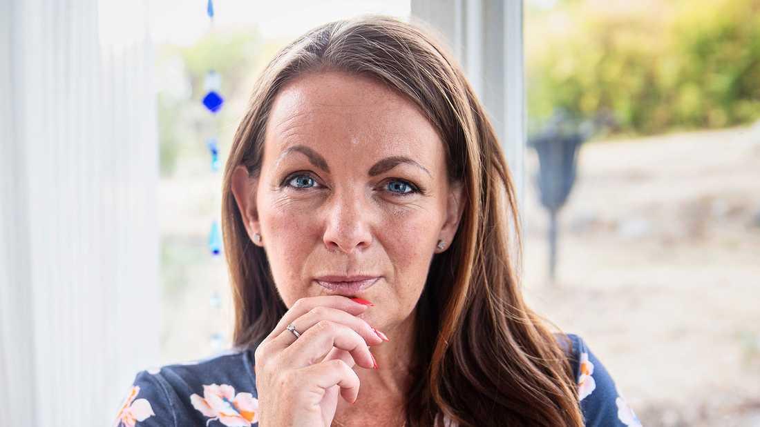 Författaren och tidigare SVT-profilen Katarina Wennstam.