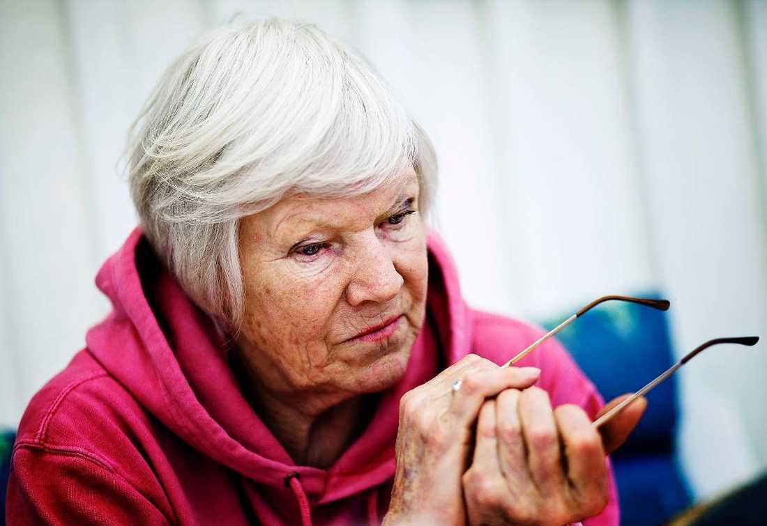 I samband med en röntgenundersökning upptäckte läkarna att författaren Birgitta Stenberg drabbats av levercancer.