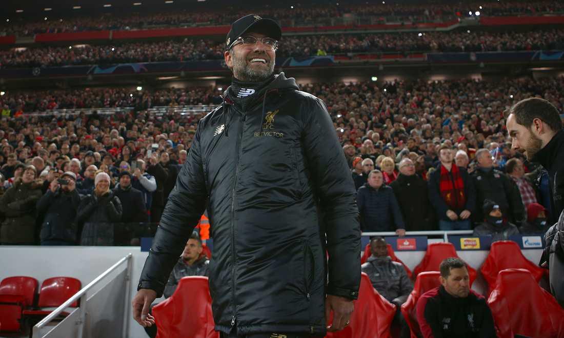 Jürgen Klopps Liverpool tar emot Bayern München på Anfield.