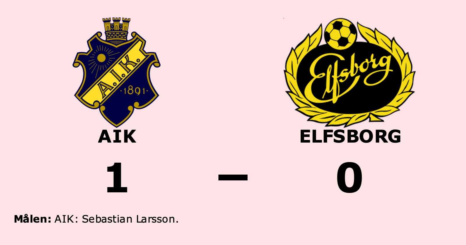 Stark andra halvlek räckte för AIK