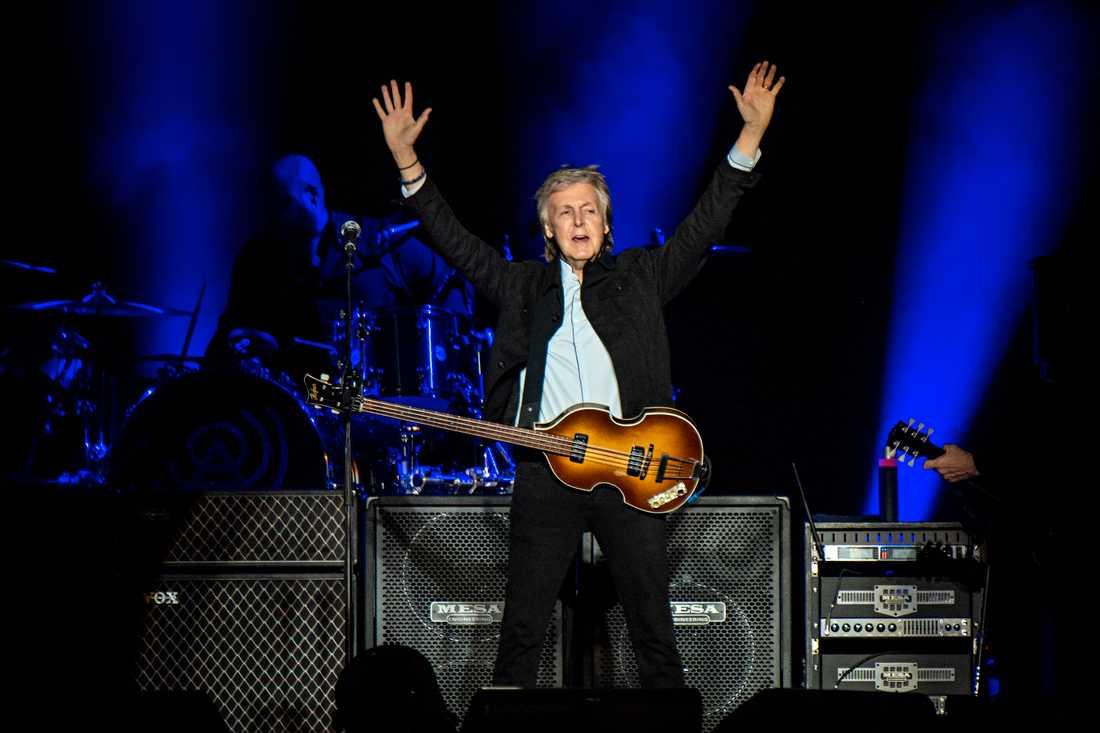 Paul McCartney har spelat in ny musik. Arkivbild.