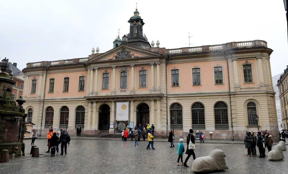 Börshuset där Svenska Akademien håller sina möten