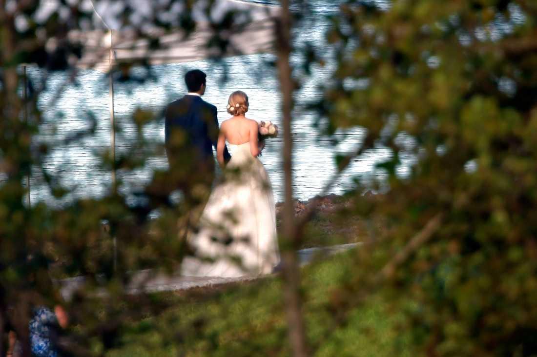 Bröllopsparet