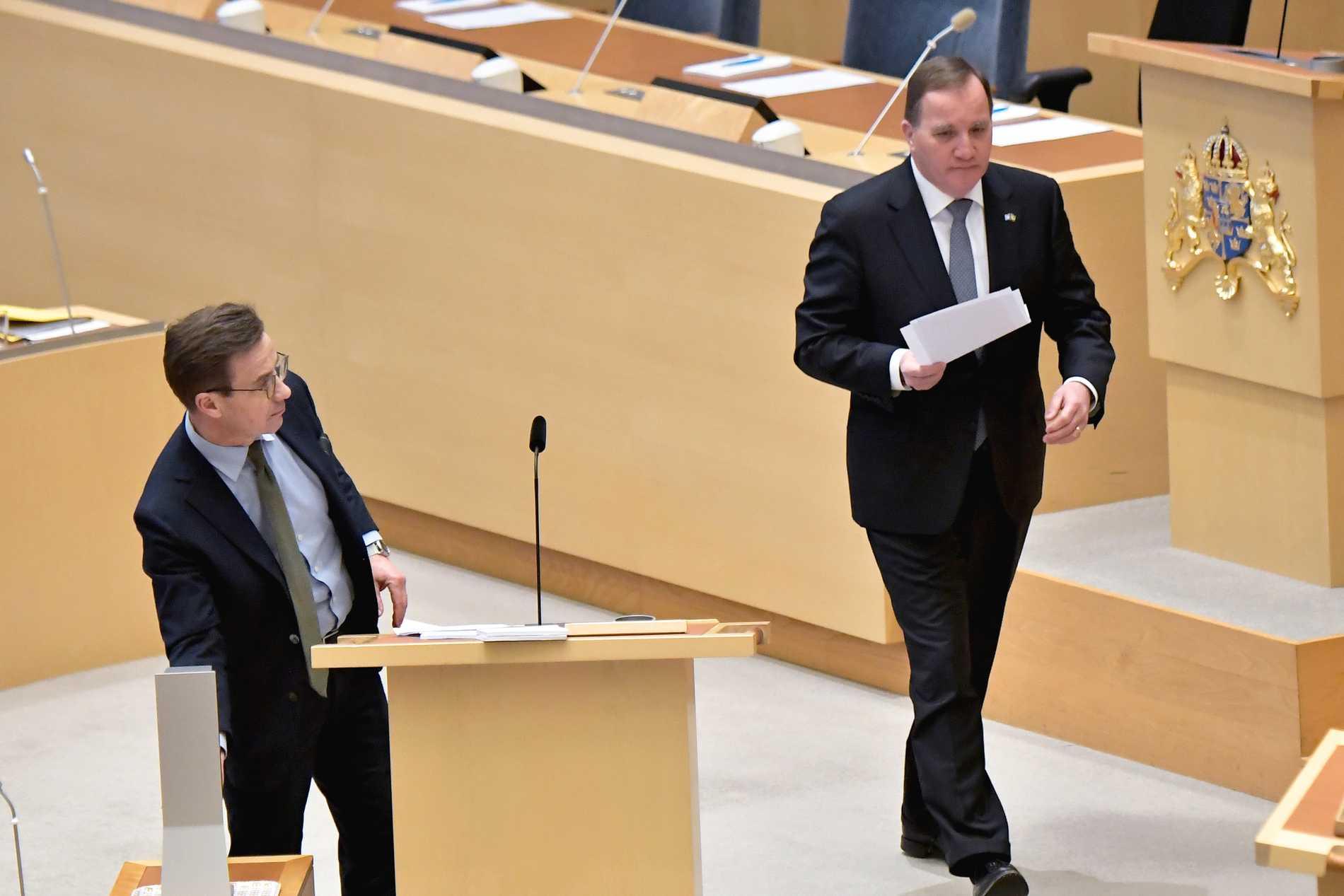Stefan Löfven och Ulf Kristersson.