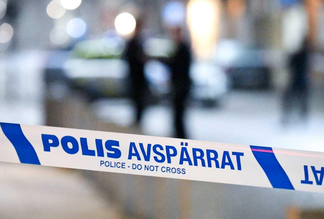 En kvinna i 20-årsåldern angreps och misshandlades i sin lägenhet i Uppsala av en okänd man. Arkivbild.