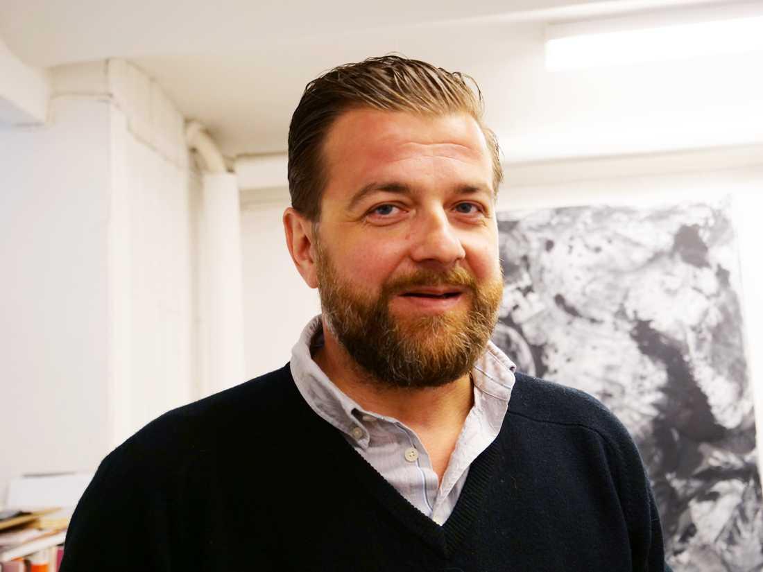 Lukas Göthman har skapat verken.