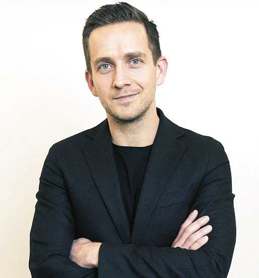 Metros publisher Thomas Eriksson.