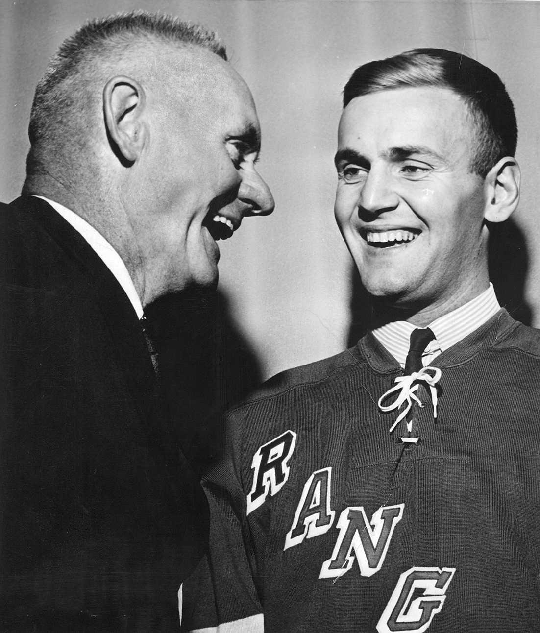 Ulf Sterner var vår första exporterade NHL-spelare i New York Rangers säsongen 1962/1963