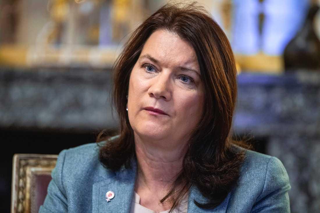 Utrikesminister Ann Linde (S). Arkivbild.