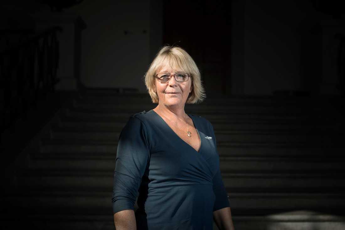 Irene Svenonius (M), finansregionråd i Region Stockholms.