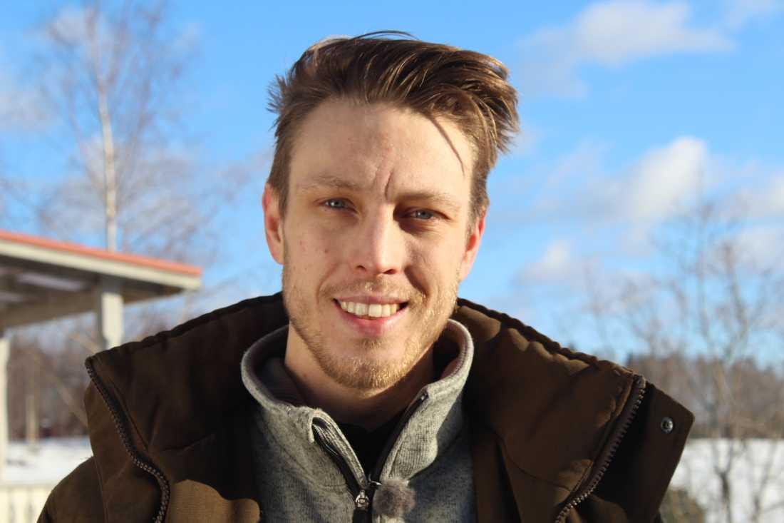 Pelle, 28, från Söderhamn.