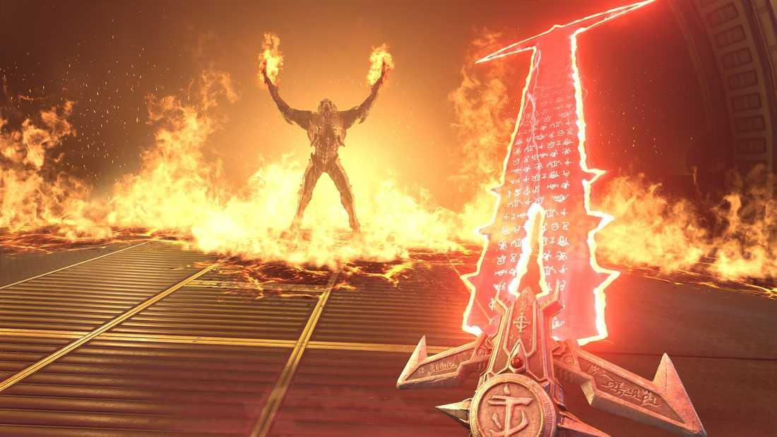 """Det finns dubbelt så många fiender i """"Doom eternal"""" som i dess föregångare från 2016. Pressbild."""
