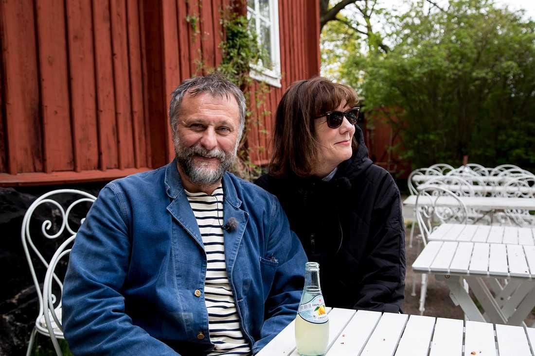 Michael Nyqvist och Susanne Cederberg