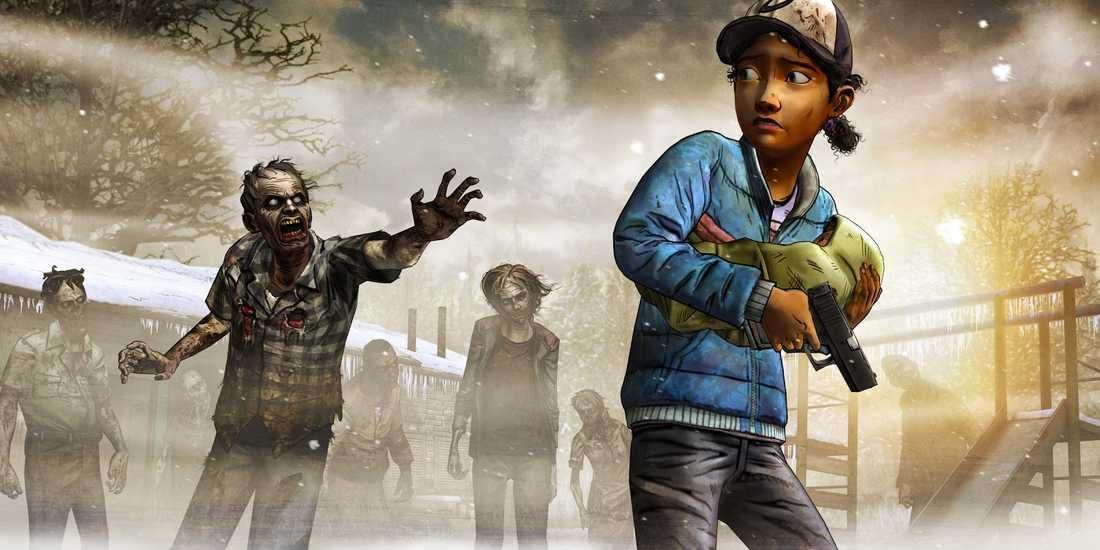 """Telltale Games spelversion av """"The walking dead"""" har hyllats av en enad kritikerkår."""