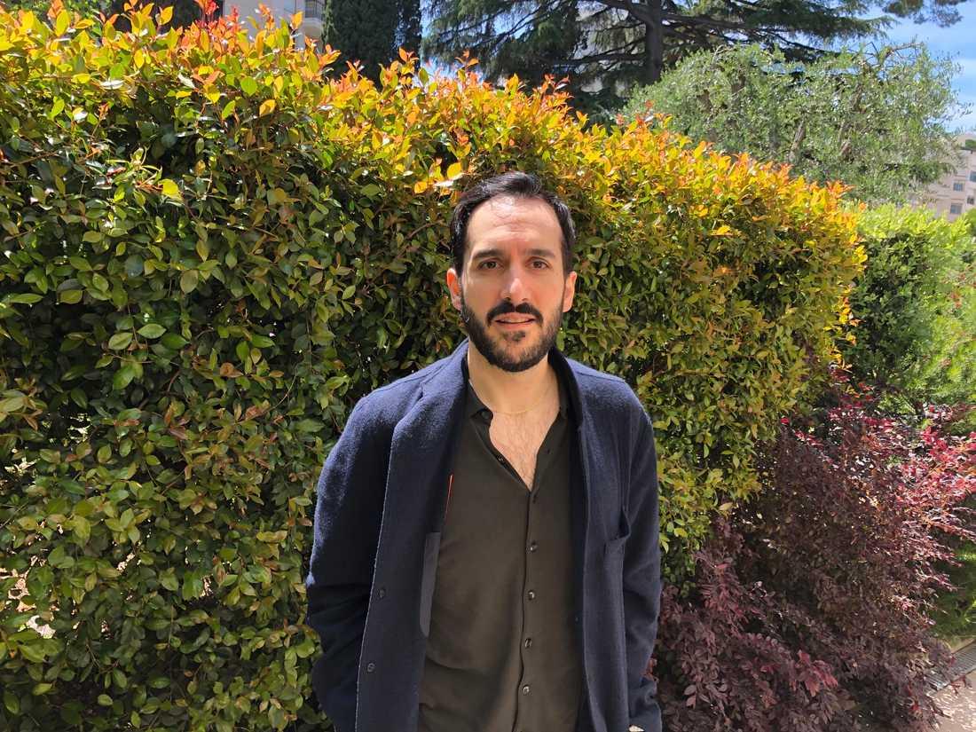 Levan Akin i Cannes.