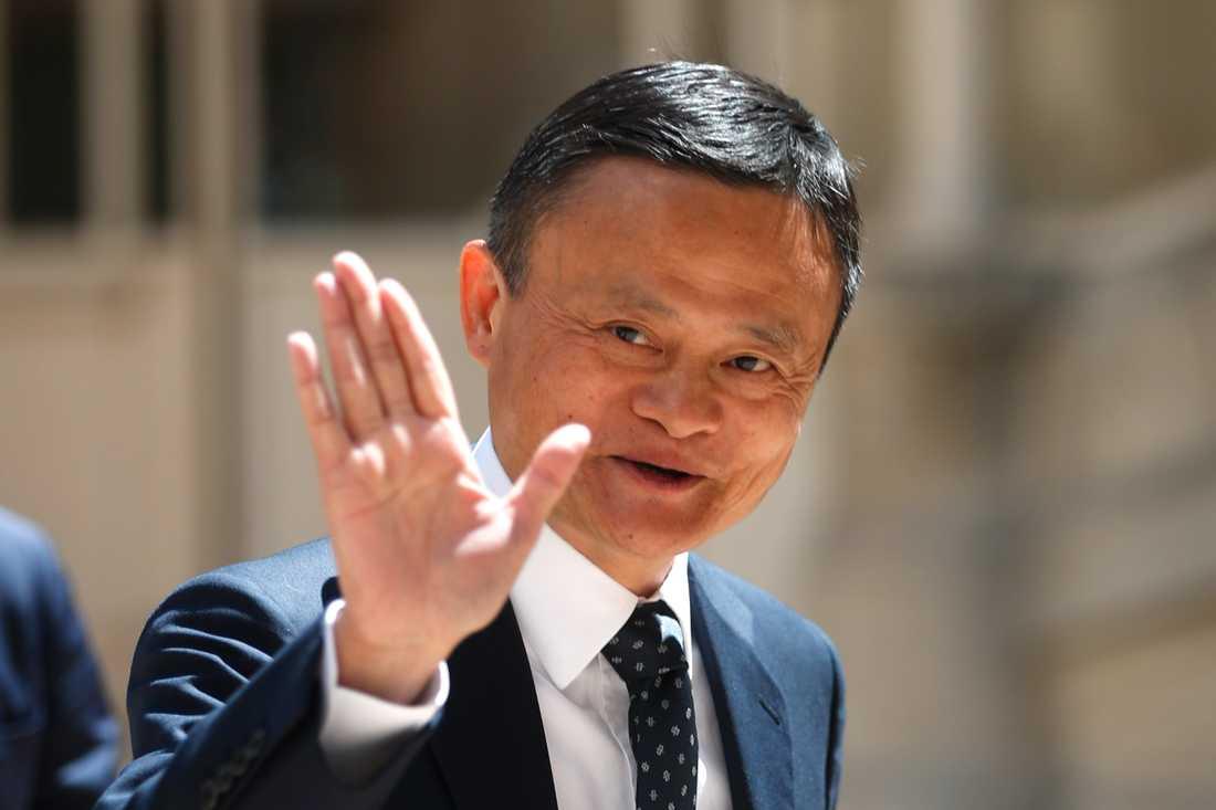 Jack Ma har kunnat se sin förmögenhet öka markant. Arkivbild.