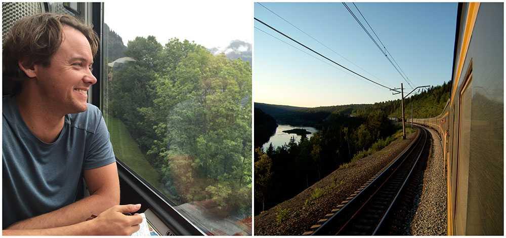 En av Dans mest minnesrika tågresor var Transibiriska järnvägen.