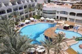 Hotellet Tropitel Naama Bay i Sharm El Sheikh.