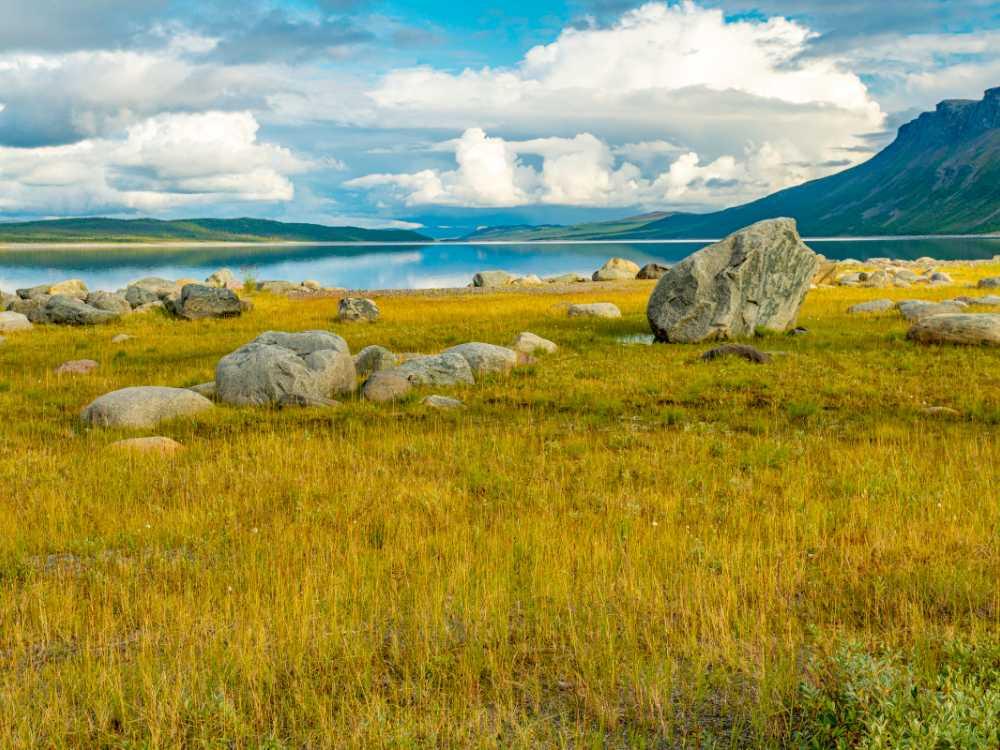 Vietas Stora sjöfallet, Norrbotten.