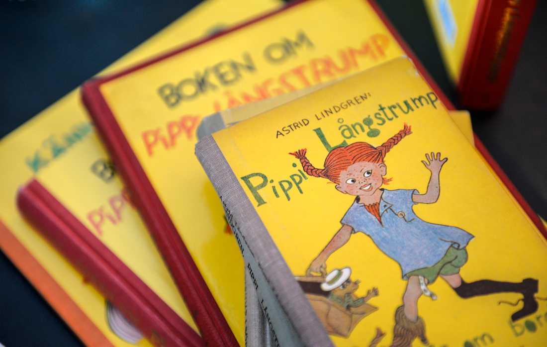 Pippi Långstrump-böcker.