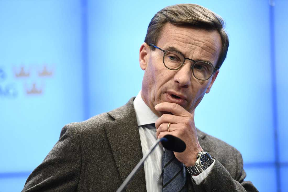 M:s partiledare Ulf Kristersson.