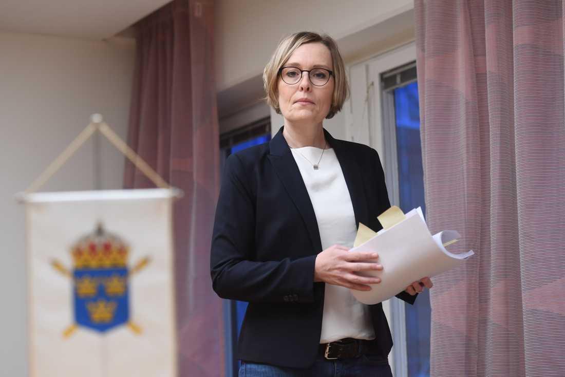 Annika Wennerström är en av de åklagare som driver ärendet. Arkivbild.