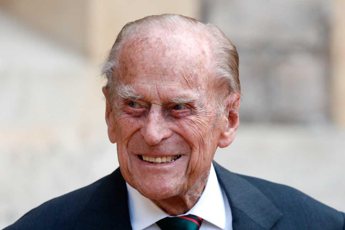 Prins Philips tillstånd har förbättrats, säger prinsens svärdotter Camilla, hertiginnan av Cornwall. Arkivbild.