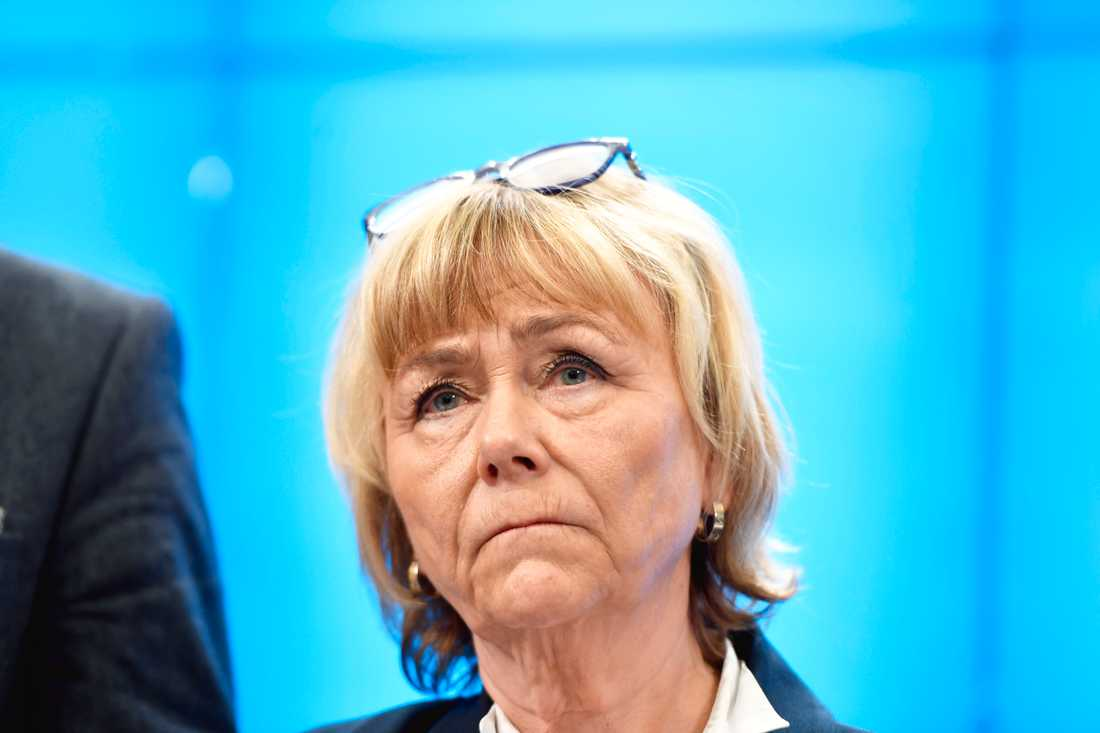 Moderaternas försvarspolitiska talesperson Beatrice Ask vill att försvarsberedningen ska återinkallas för att syna ÖB:s ändrade plan för försvaret. Arkivbild.