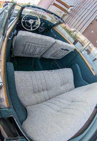 Volvo PV51 med Nordbergkaross från 1937. Utropspriset: 750 000 kronor.