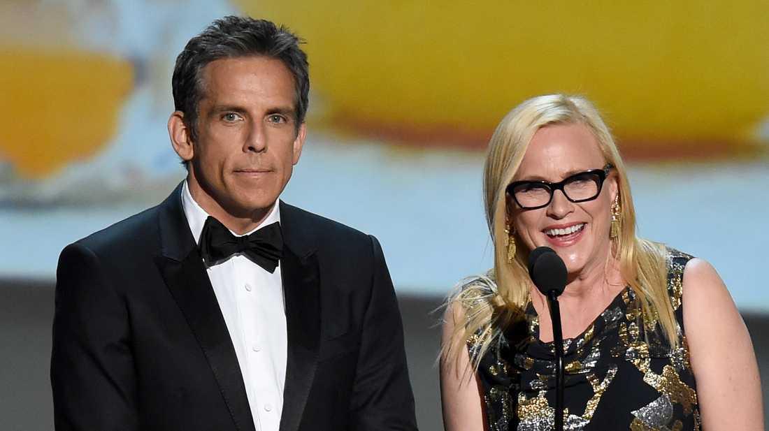 Ben Stiller och Patricia Arquette. Arkivbild.
