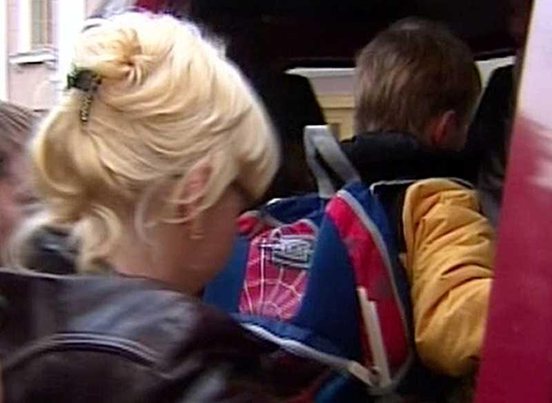 Pojken tas om hand av ryska myndigheter i Moskva - efter att han skickats tillbaka av sina amerikanska adoptivföräldrar.
