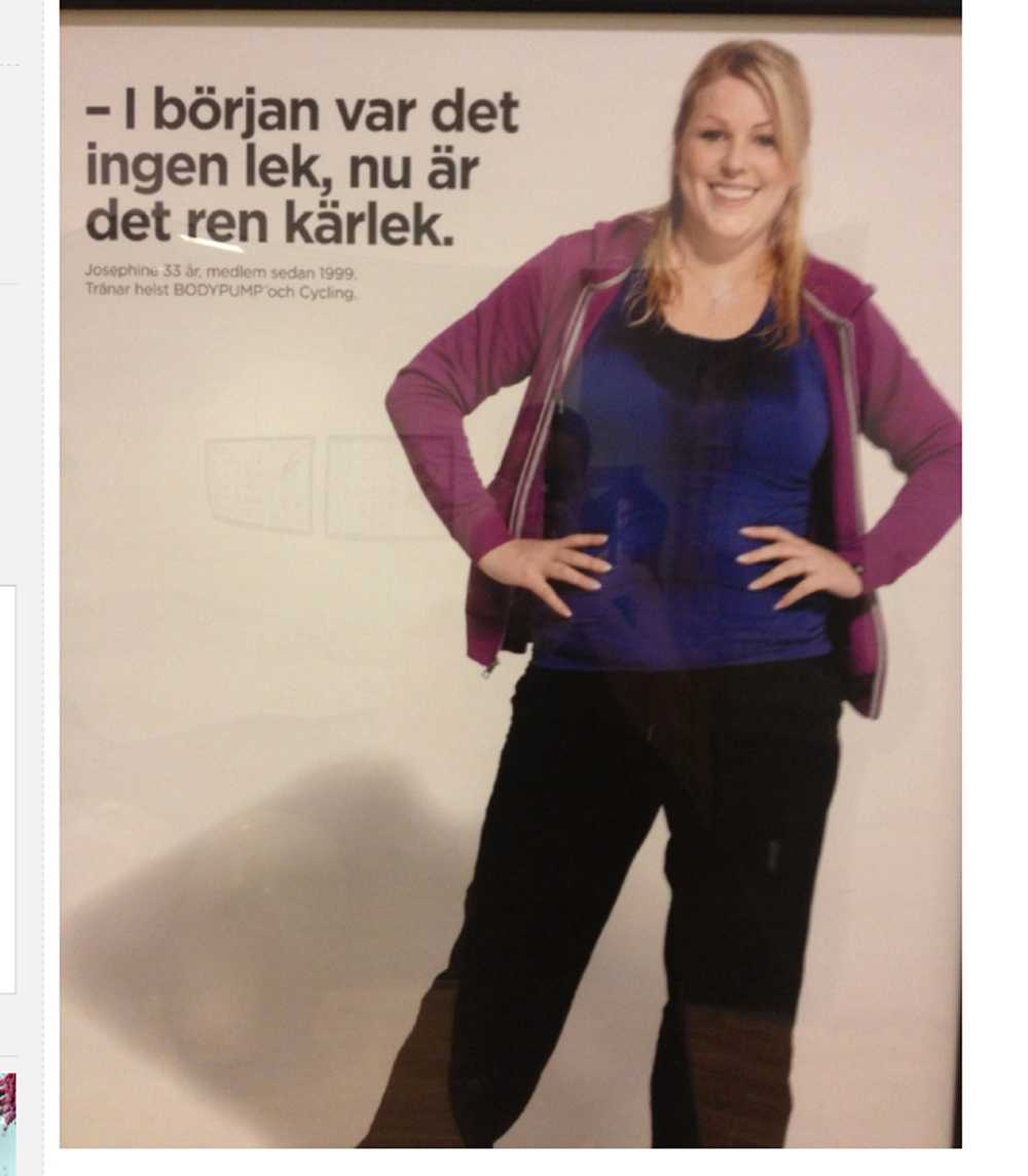 Bilden som fick Katrin att skriva sitt inlägg.