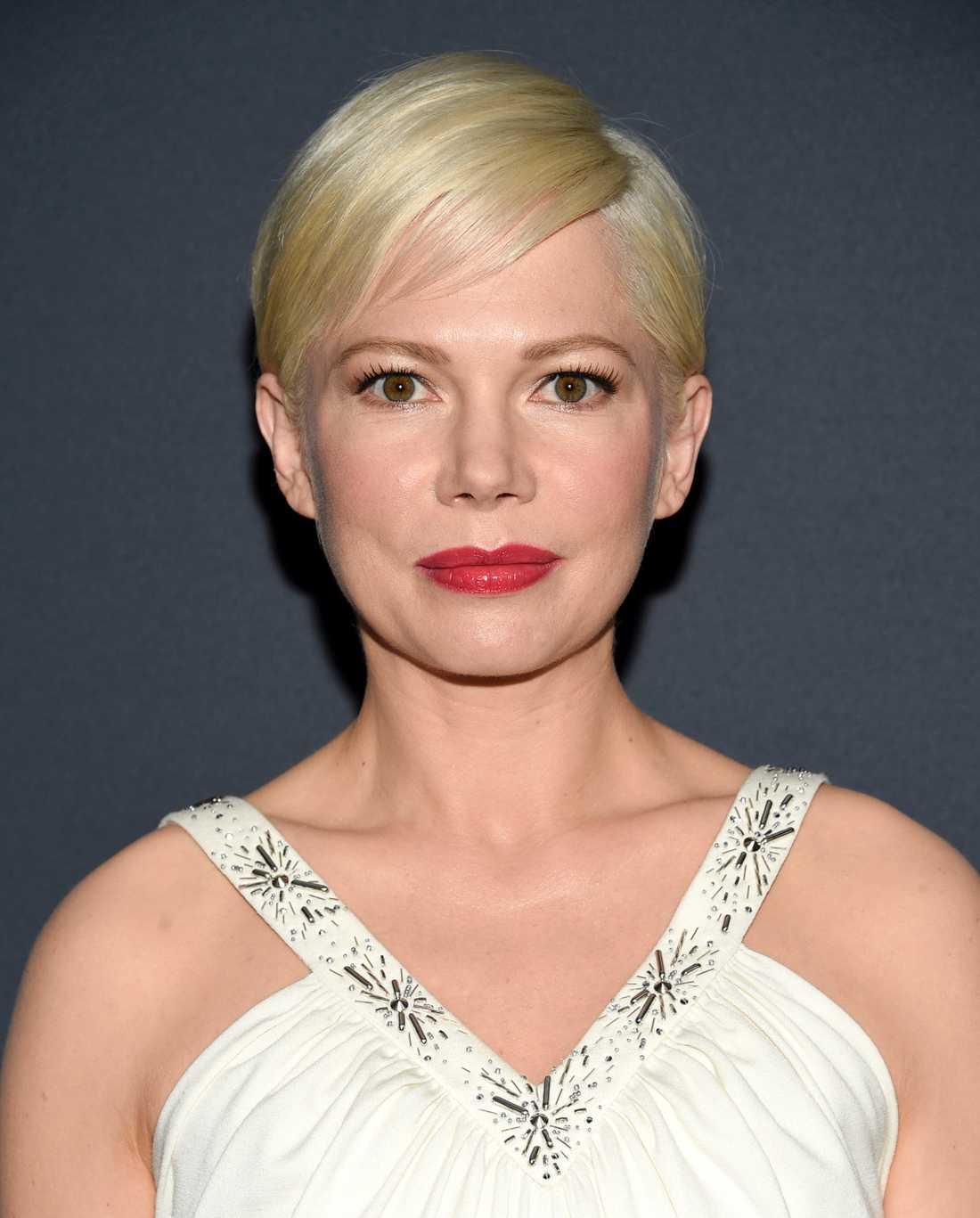 """Michelle Williams spelar en modern, amerikansk version av Liv Ullmanns rollfigur i den nya """"Scenes from a marriage"""". Arkivbild."""