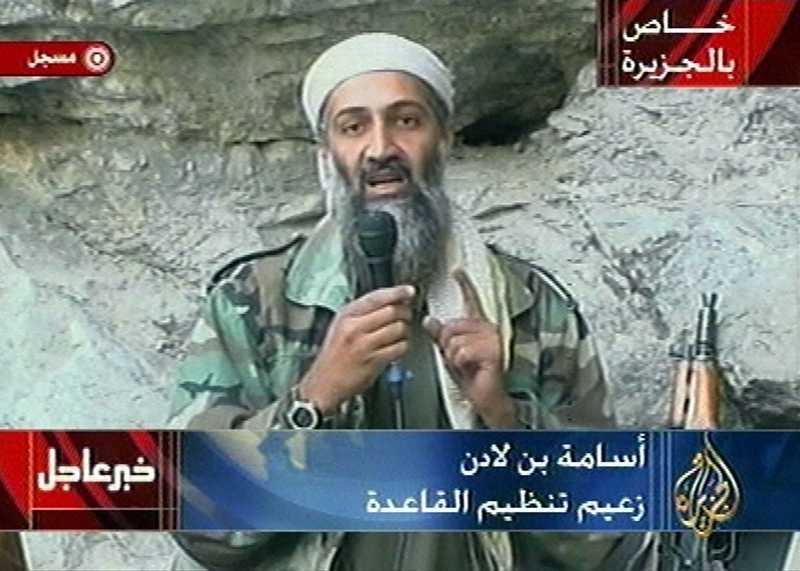 Usama bin Ladin blev 2001 en av världens mest jagade män. han är fortfarande på fri fot.