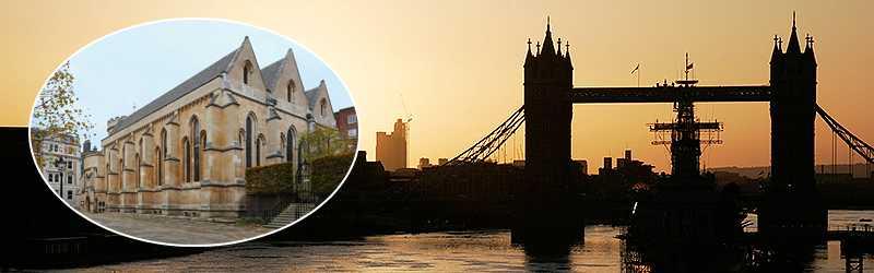 Stadsdelen Temple är en av pärlorna i London, där man inte behöver trängas med miljontals människor.