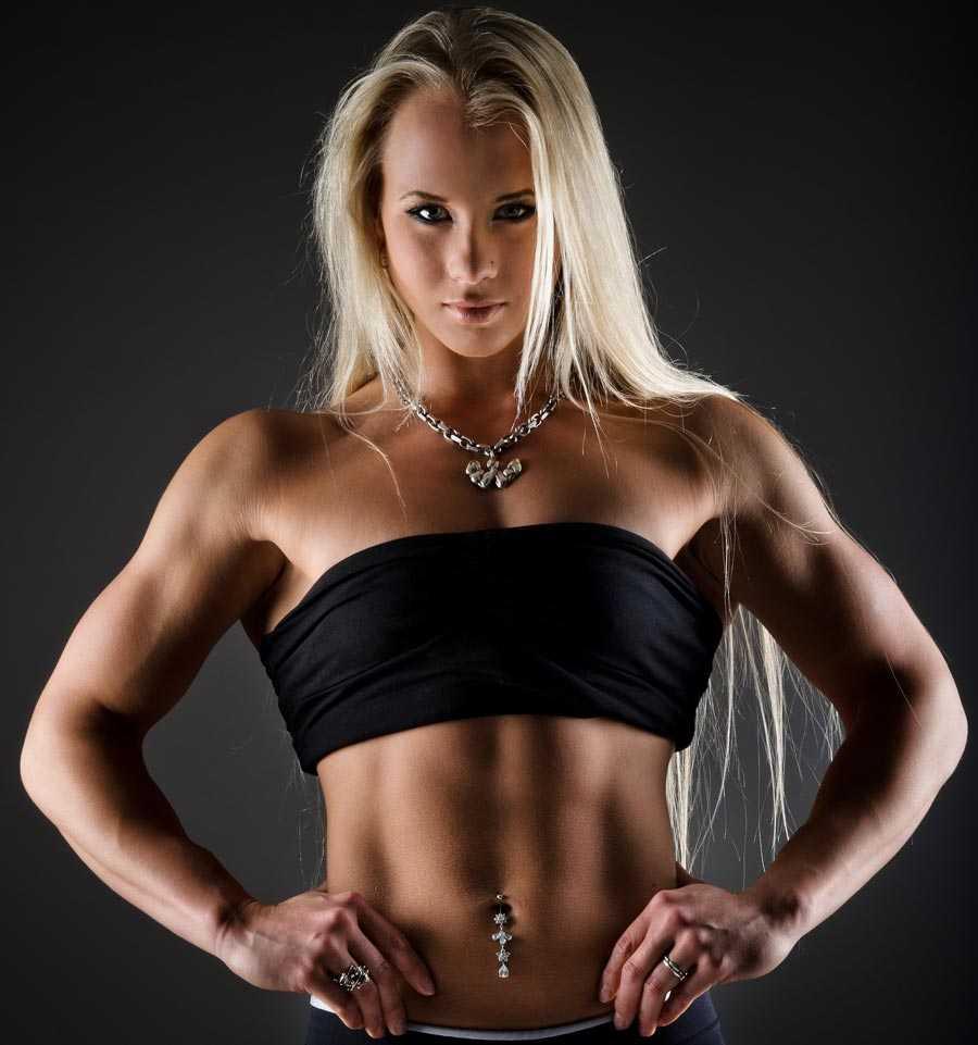 Sarah Bäckman, 21, är TV 4:s nya gladiator.
