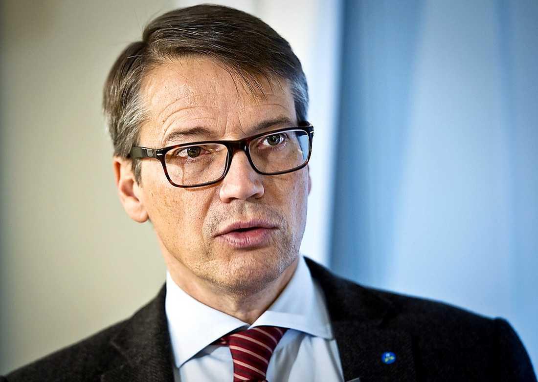 ... men fick genast mothugg av KD-ledaren Göran Hägglund.