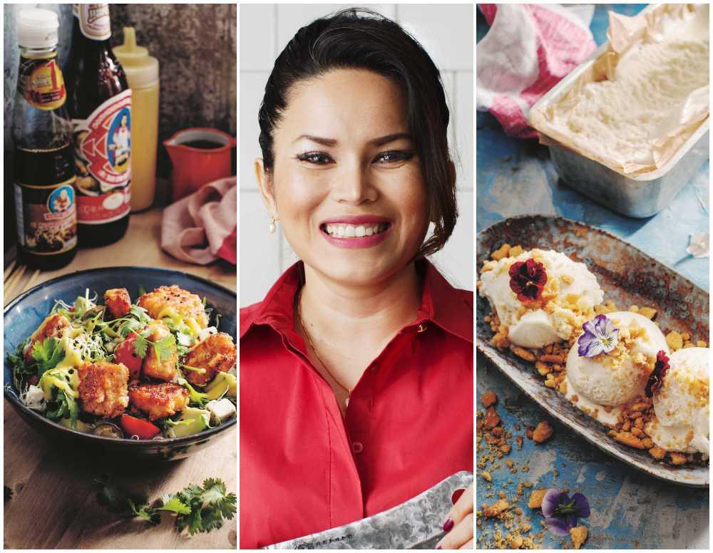 Wichudaporn Chaiyasaeng lagar thailändskt med äkta smaker.
