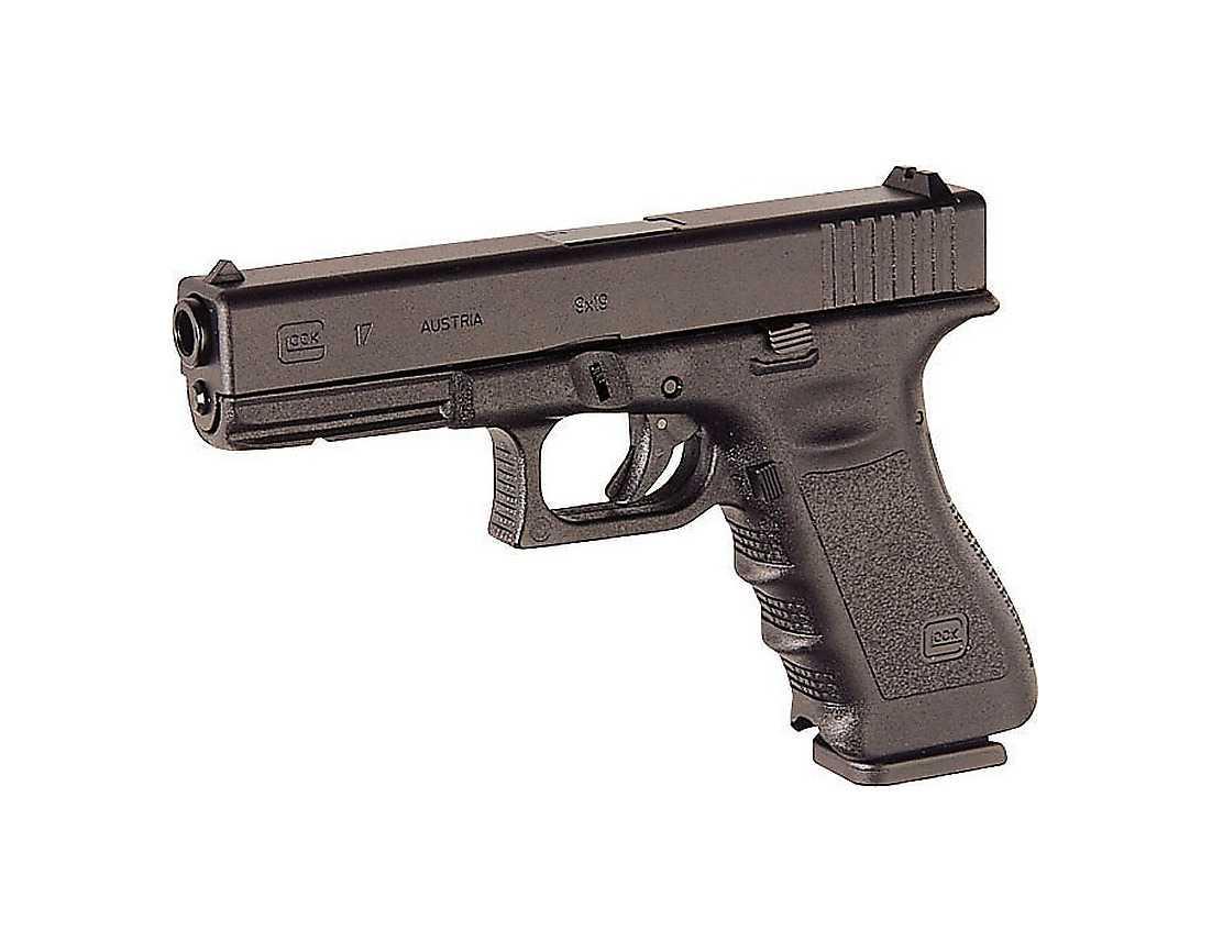 Anders Behring Breivik köpte en Glock 17 för 700 euro och en pistolbajonett för 62 dollar.