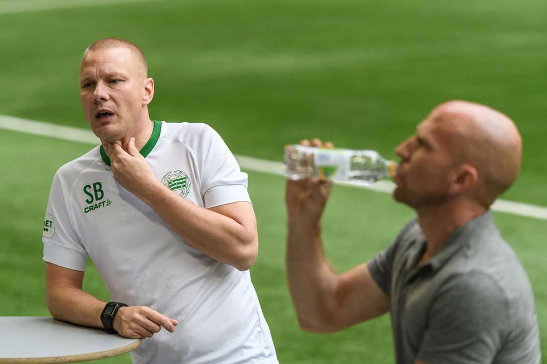Hammarbys tränare Stefan Billborn.