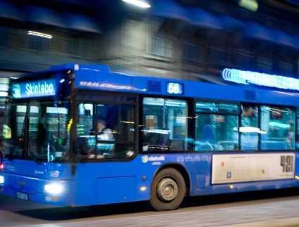 Sex på bussen