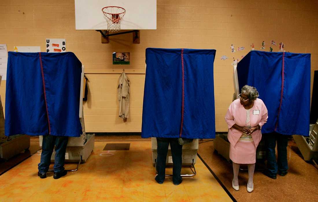 Vallokal i USA 2004.