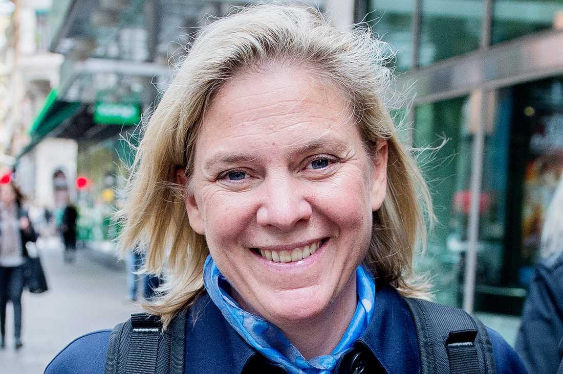 Finansminister Magdalena Andersson (S), 47
