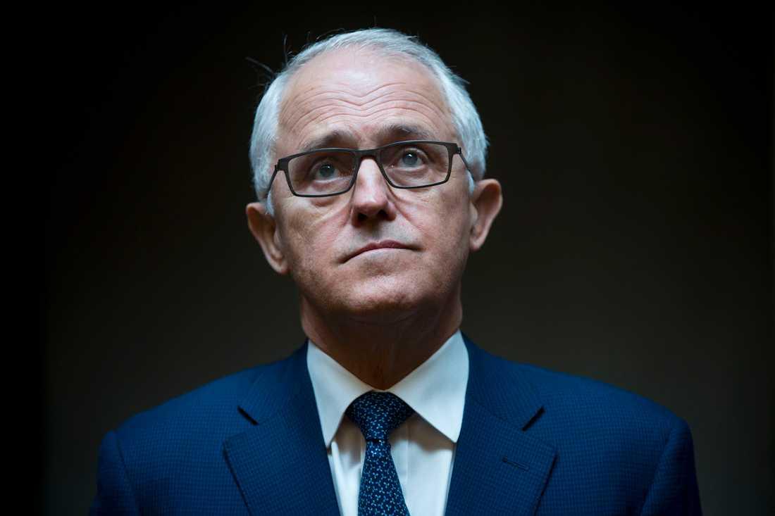Australiens premiärminister Malcolm Turnbull. Arkivbild.
