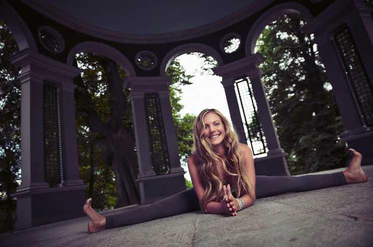 Yoga Girl, alias Rachel Bråthén.