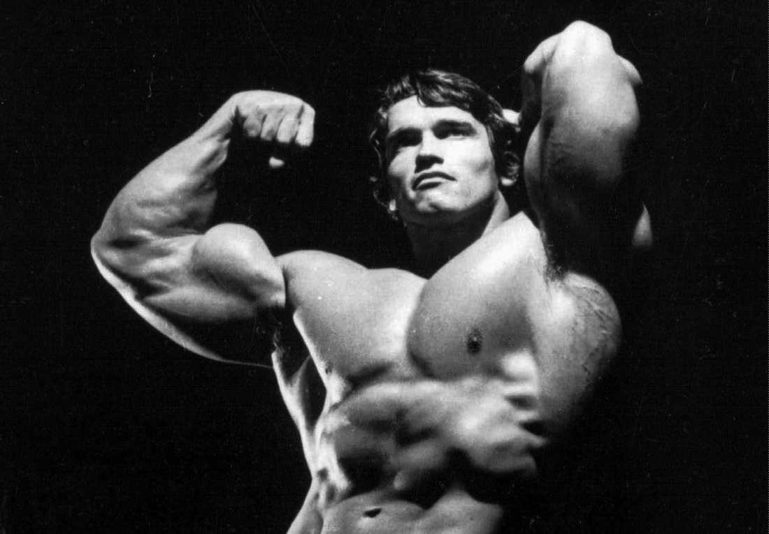 Arnold under Mr Olympia-epoken.
