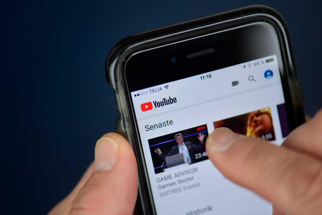 Youtube vill ta ett hårdare grepp mot trakasserier och hot. Arkivbild.