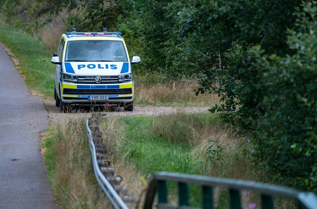 Den mördade 70-åringen hittades den 10 augusti i ett skogsparti utanför Markaryd. Arkivbild.