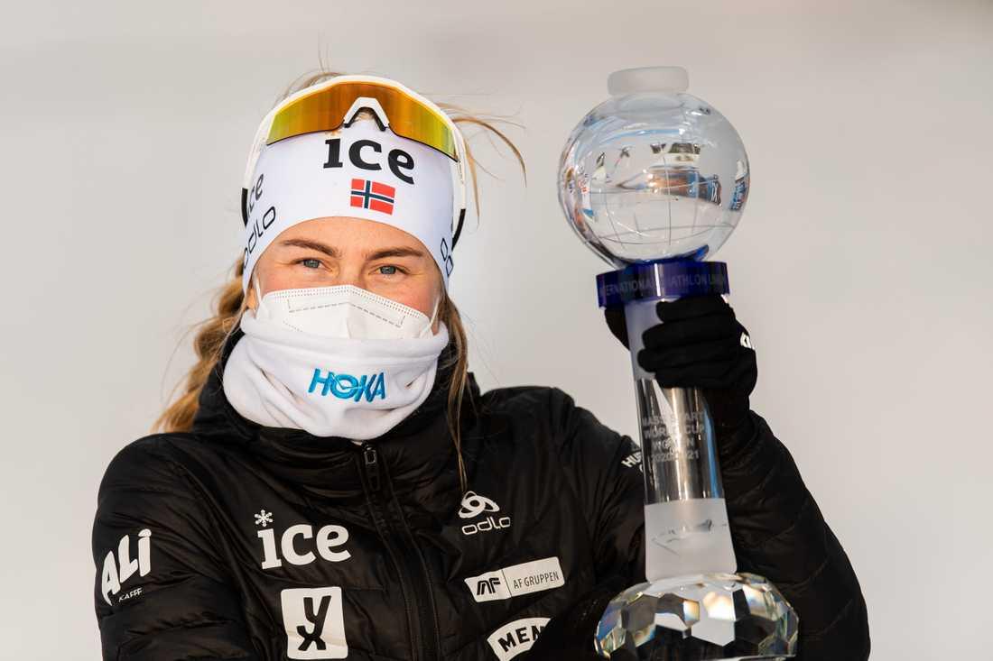 Ingrid Landmark Tandrevold vann världscupavslutningen.