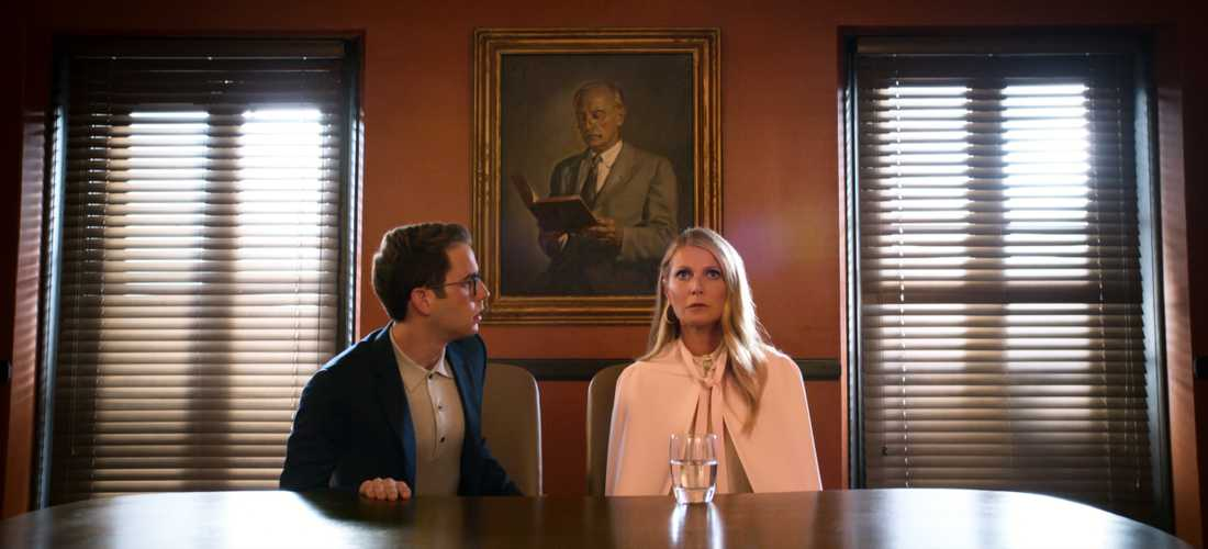 "Ben Platt och Gwyneth Paltrow i ""The politician""."